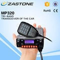 The same with QYT KT-8900 mobile radio ZASTONE MP320 UHF/VHF TRI-Band 25W mobile radio