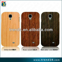 2014 new product real wood design case for samsung galaxy S4(i9500)