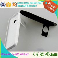 new electronical products power case for HTC ONE M7 charger case made in china