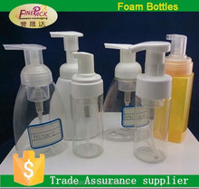 150ml 200ml 250ml 300ml foam soap dispenser disposal bottle for packaging