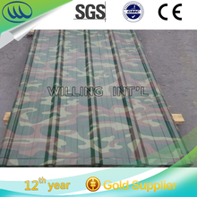 Galvanized metal glazed wall panel/ steel sheet roofing and wall panels