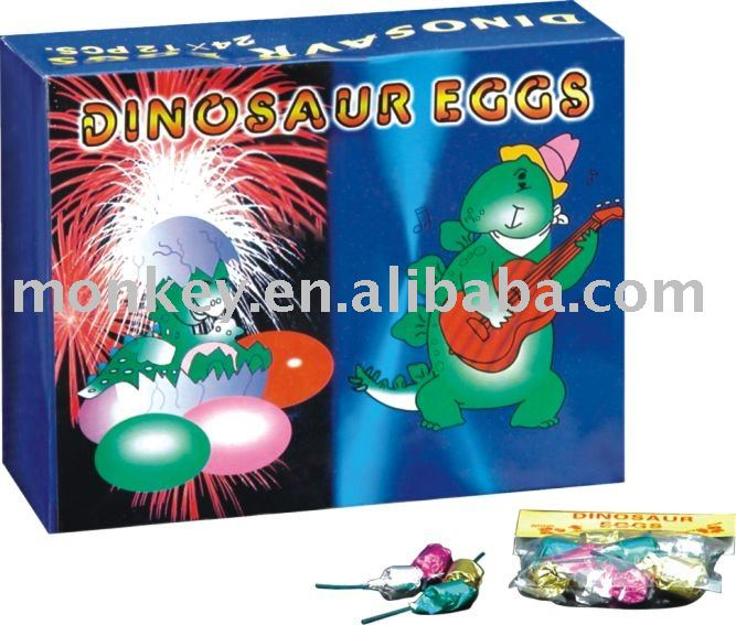 Dragon cracker Dinosaur Eggs Novelty Toys fireworks safety for children christmas item Fireworks(W667)