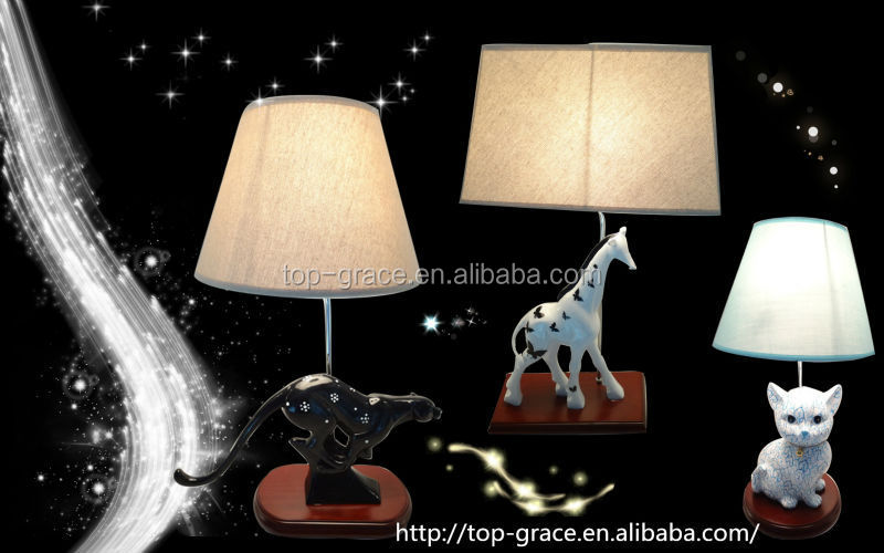 resin couple figurine table lamps for living room table lamp craft