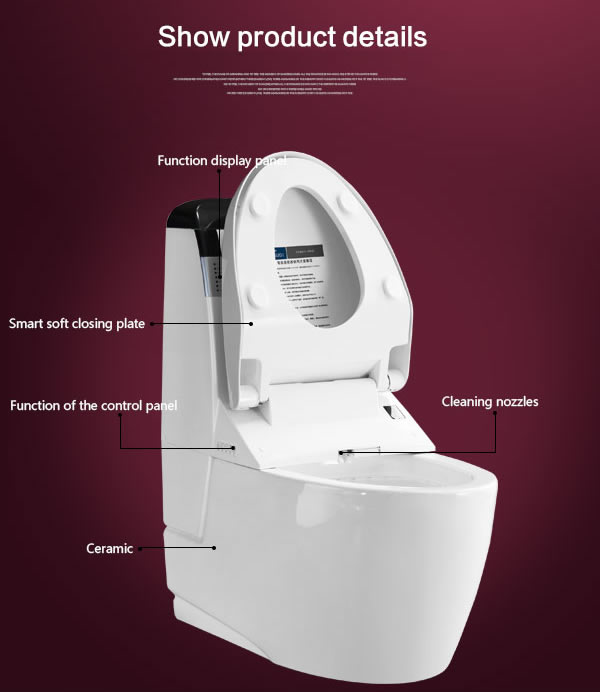 New Design FM Radio Colored Toilet Bowl Brand Toilet bowl