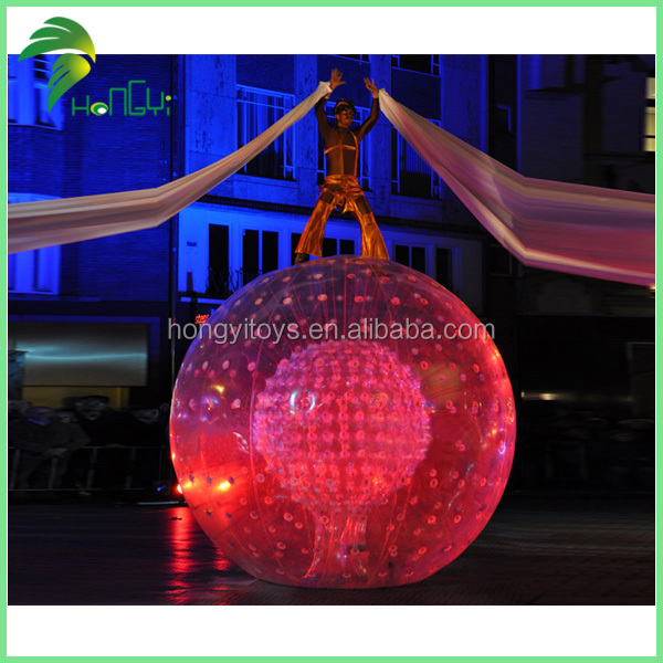 Best Sale Inflatable body zorb ball for Performance stage