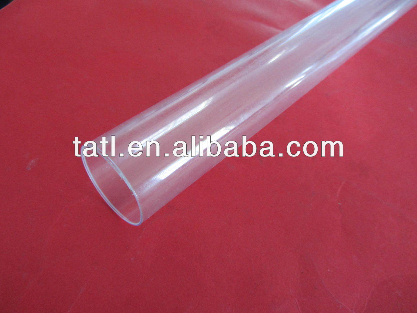 plastic tube packaging for hair extension