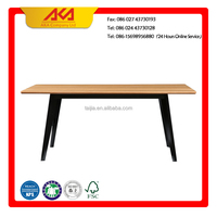 Modern design solid wood dining Table for European