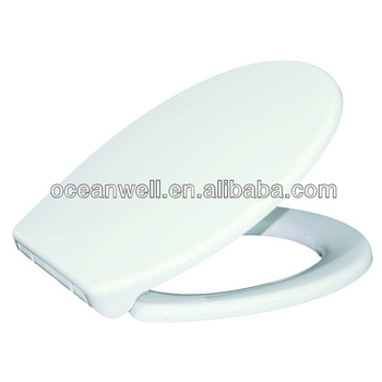 Elongated PP Toilet Seat Cover for Bathroom