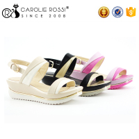 new collection of sandals fashion flat summer indonesian sandals shoes women