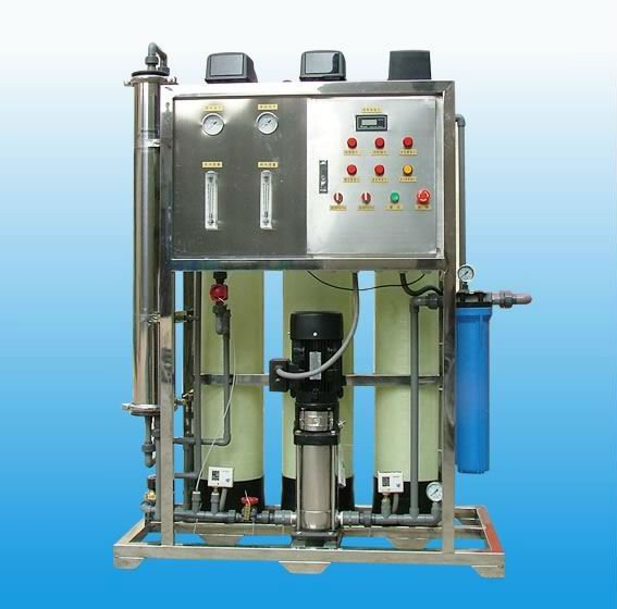 2000L/H compact size salty water/brackish water treatment RO system/RO plant