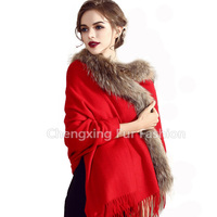 CX-B-P-65C 2016 Lady Fashion Soft Cashmere Shawls and Stoles