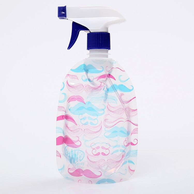 plastic water spray bottle with straw BPA free