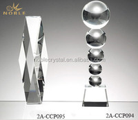 Custom Made Engraving Blank Prism Crystal Trophy For TV & Movie Character