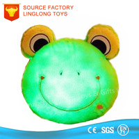 Gift Ideas for Gift Dorky Frosch Voice Recording Soft Toy Plush Emoji Pillow Stuffed Toys