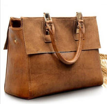 monroo temperament retro leather design women bags Europe and the United States style lady hand bag