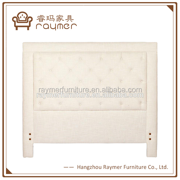 Fabric upholstered hotel bed headboard