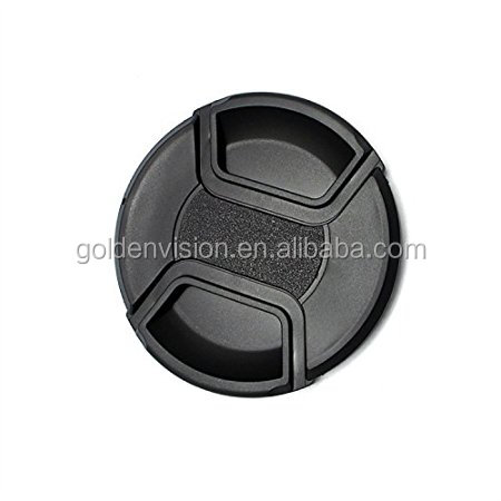 JGJ Hot Sale 52mm Snap-on Lens Cap Center-pinched for Nikon for Cannon Dustproof Waterproof Camera Accessories