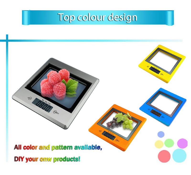 Sunny 10 Kg Glass Digital Kitchen Scale With Back Light