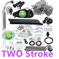 TWO stroke bicycle gas engine 80cc/ air-cooling motorized bicycle kit gas engine