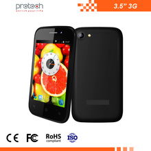 Cheapest best OEM dual sim card wifi/BT/FM 3.5 inch 3G smartphone Android OS