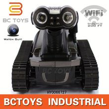 HOT! Iphone Android control spy rc tank with wifi camera electric toy race track HY0066727