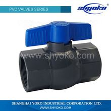Custom high quality durable service pvc ball valve 2 inch