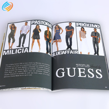 Good Quality Cheap Custom Soft Cover Book CMYK Magazine Printing