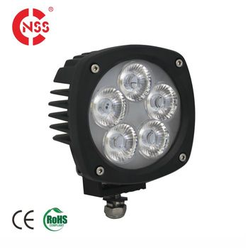 Guangzhou Factory Emark Approved IP68 High Power 50W Car LED Work Light Lamp 4x4