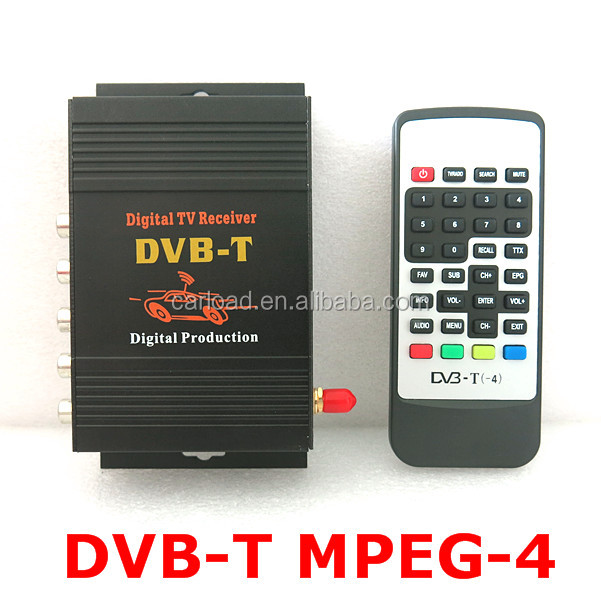 CAR DVB-T MPEG-4 digital TV tuner