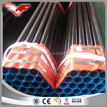 Mild steel BS1387 standard unit weight of circular hollow section pipe