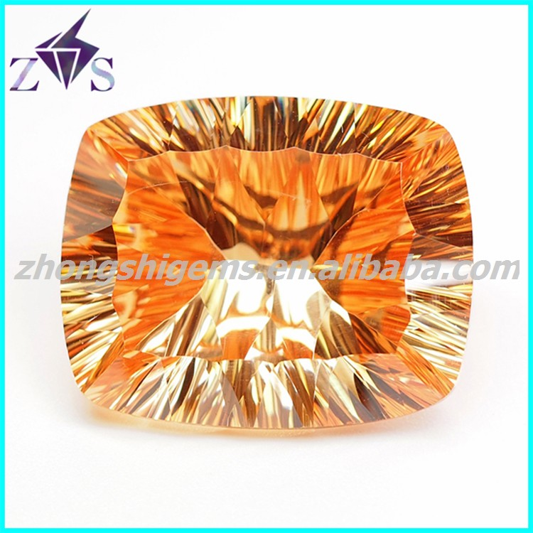 Champagne Synthetic CZ Gemstone