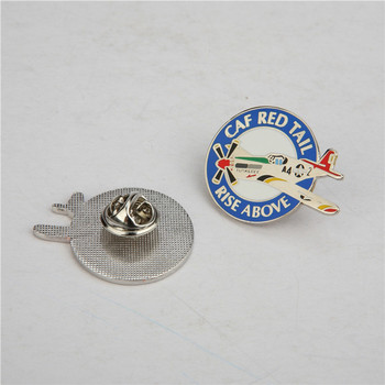 2017 most popular metal badge With Promotional Price