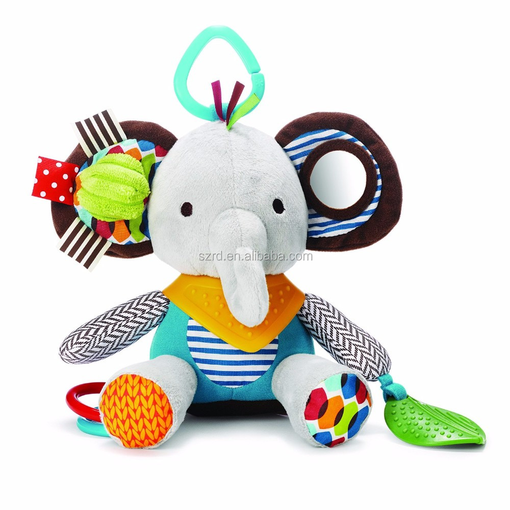 customized elephant animal plush doll/comfortable plush toy/safe and cheap price animal plush toy