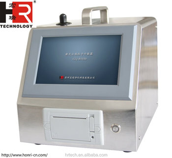 100LPM touch screen Airborne Particle Counter CLJ-B1030