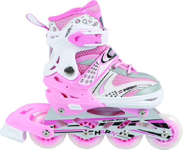 Fashion flying shoes inline skates roller skate shoes/four wheel roller skate shoes