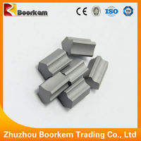 Zhuzhou boorken yg6 cemented carbide tip carbide tipped tool for Snow plough machine
