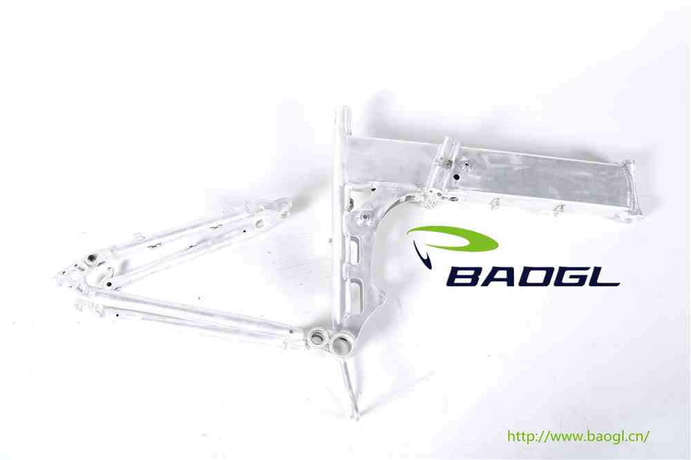 BAOGL bicycle frame for adult recumbent tricycles
