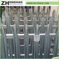 Professional galvanized palisade fence,cheap metal fencing,palisade fencing