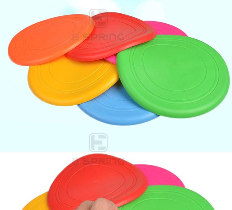 Высокое качество пользовательские 18*18 см Силиконовые игрушки для животных печатные Фрисби