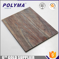 Wooden Surface Aluminum Composite Panel Aluminum Cladding Sheets Coverings