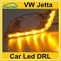 color changing led drl daytime running light for VW Jetta 2013-2014