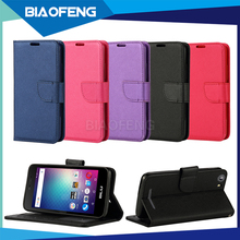 Made in china phone accessories pu leather wallet mobile dropshipping phone case with card slot for blu energy m