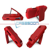 Hard Holster Combo Case For Motorola Defy Mini XT320 Clip Belt Holster Case