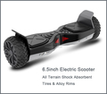 New smart 6.5inch electric self balancing 2 wheel hoverboard for children UL2272 two hour charging time