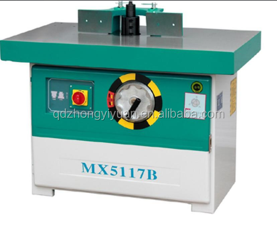 vertical single head woodworking spindle moulder for woodworking MX5117
