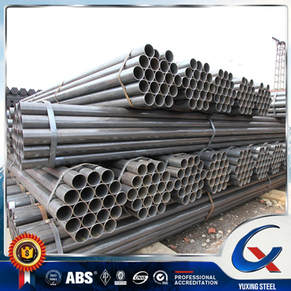 Manufacturing steel conduit factory in tianjin china s235 erw welded steel tube