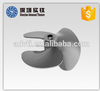 Anti-corrosion investment casting titanium marine bow thruster