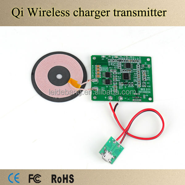 2017 New Product DIY qi Transmitter PCB Wireless Charger PCB