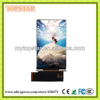 "TS8040H 3.97"" colorful tft lcd module 480 x 800 pixels MIPI-2 Lanes interface OTM8018B 16.7M colors"