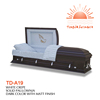TD--A19 Wholesale American type wooden used casket for sale